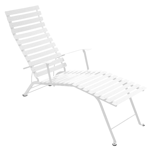 Fermob Bistro Metal chaise longue, cotton white from Fermob