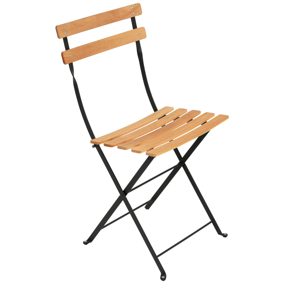 Fermob Bistro Naturel chair, liquorice from Fermob