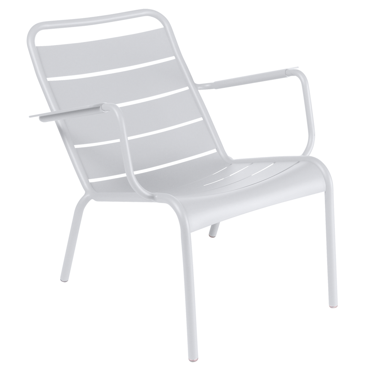 Fermob Luxembourg low armchair, cotton white from Fermob
