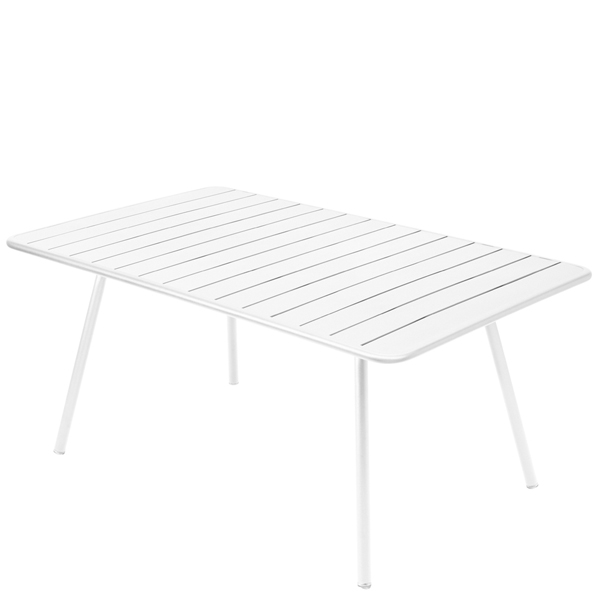 Fermob Luxembourg table, 165 x 100 cm, cotton white from Fermob