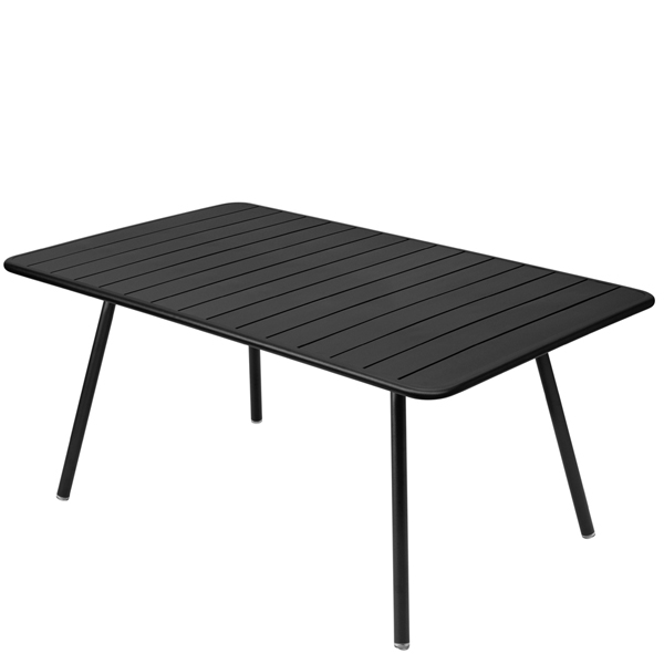 Fermob Luxembourg table, 165 x 100 cm, liquorice from Fermob