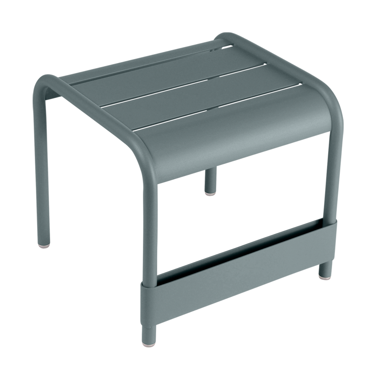 Fermob Luxembourg table/footrest, storm grey from Fermob