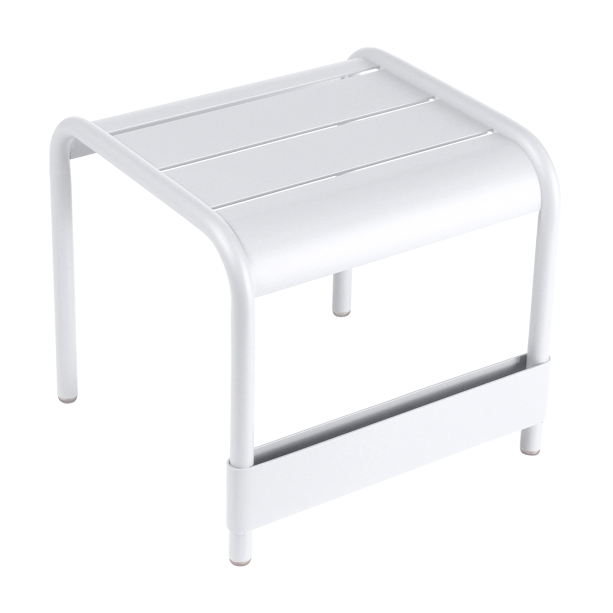 Fermob Luxembourg table/footrest, cotton white from Fermob