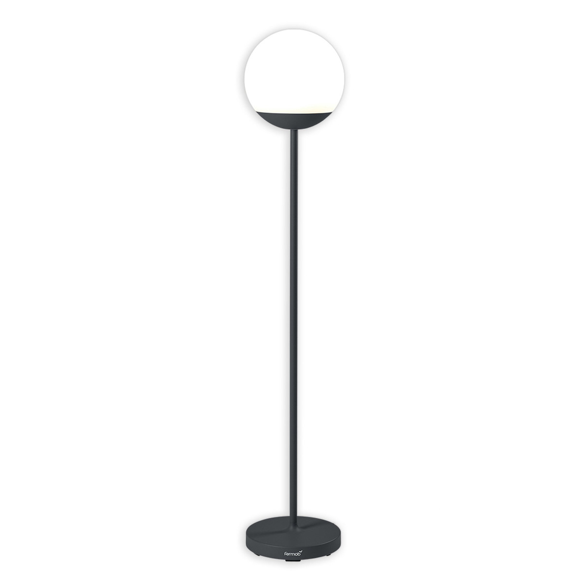 Fermob Mooon! Tall floor lamp, anthracite from Fermob