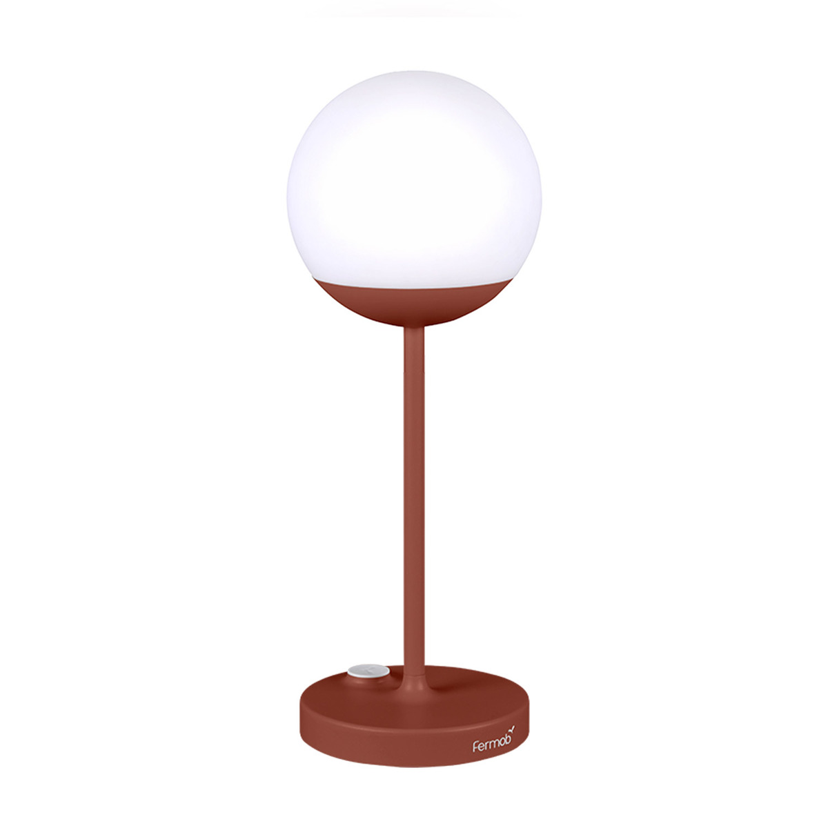 Fermob Mooon! table lamp, red ochre from Fermob
