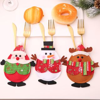 Christmas Cutlery Cover from Fiesta