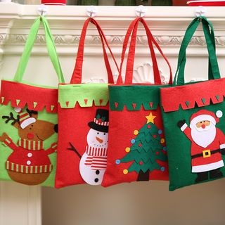 Christmas Fabric Gift Bag (various designs) from Fiesta