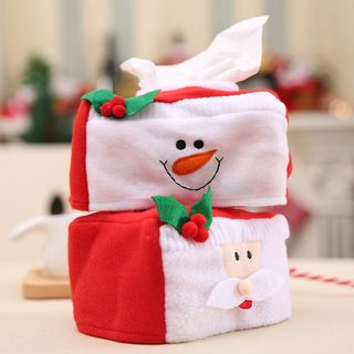 Christmas Fabric Tissue Cover (various designs) from Fiesta