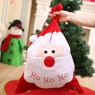Christmas Santa Fabric Pouch from Fiesta