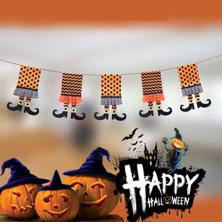 Halloween Garland As Shown In Figure - One Size from Fiesta