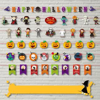 Halloween Paper Garland (various designs) from Fiesta