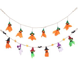 Halloween Witch Doll Garland from Fiesta