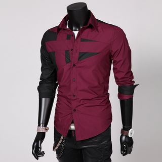 Color Block Shirt from Fireon