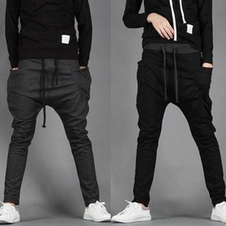 Drawcord Baggy Sweatpants from Fireon