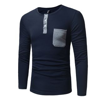 Pocketed Long-Sleeve T-Shirt from Fireon