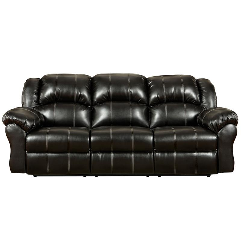 Flash Furniture 1003TAOSBLACK-GG Exceptional Designs Taos Black Leather Reclining Sofa from Flash Furniture