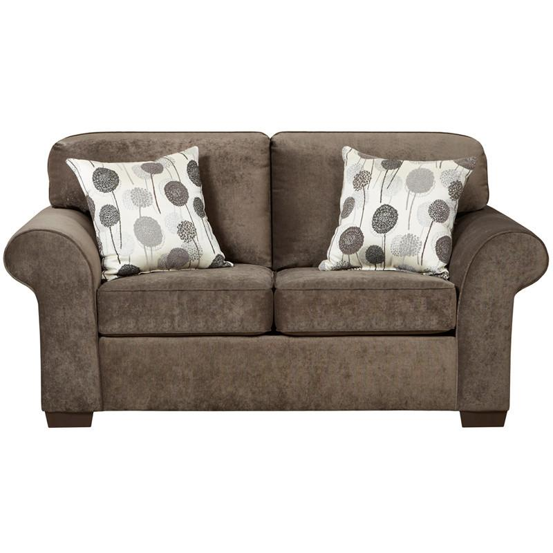 Flash Furniture 5302ELIZABETHASH-GG Exceptional Designs Elizabeth Ash Microfiber Loveseat from Flash Furniture