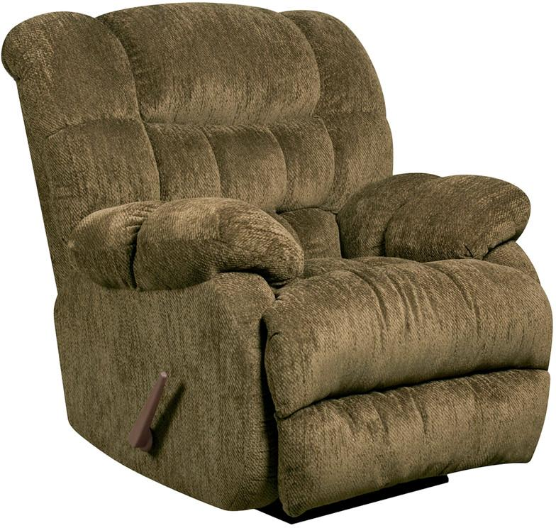 Flash Furniture AM-9460-5860-GG Contemporary Columbia Mushroom Microfiber Rocker Recliner from Flash Furniture