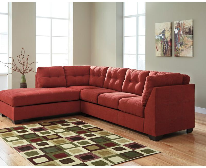 Flash Furniture FBC-2349LFSEC-SEN-GG Benchcraft Maier Sectional with Left Side Facing Chaise in Sienna Microfiber from Flash Furniture
