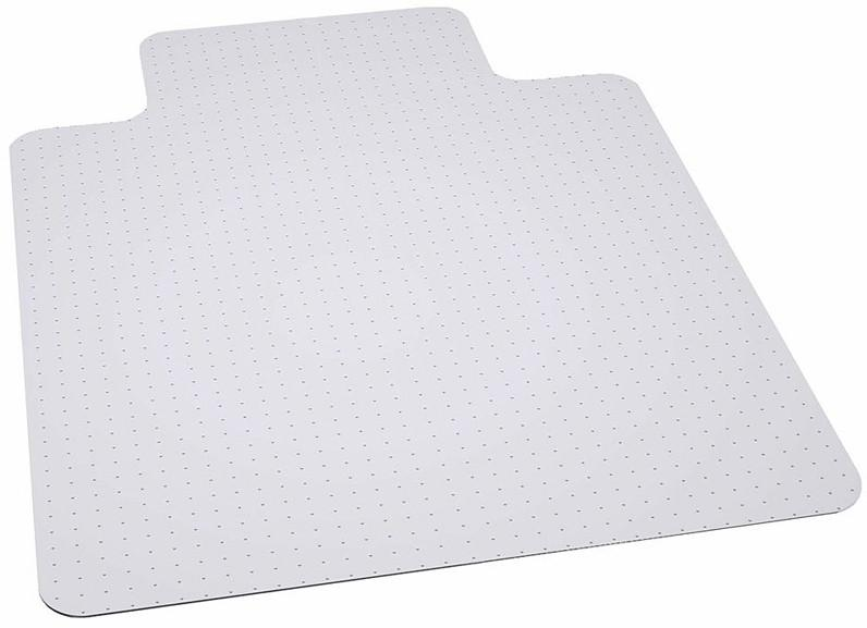 Flash Furniture MAT-124086-GG 36'' x 48'' Big & Tall 400 lb. Capacity Carpet Chair Mat with Lip from Flash Furniture