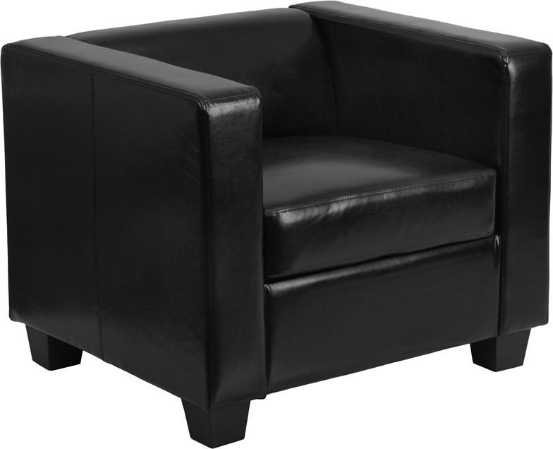 Flash Furniture Y-H901-1-BK-LEA-GG Prestige Series Black Leather Chair from Flash Furniture