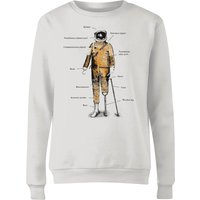 Astronaut Women's Sweatshirt - White - XS - White from Florent Bodart