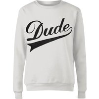 Dude Women's Sweatshirt - White - S - White from Florent Bodart