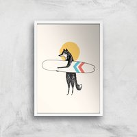Here Comes The Sun Giclee Art Print - A3 - White Frame from Florent Bodart