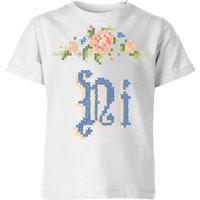 Hi Kids' T-Shirt - White - 7-8 Years - White from Florent Bodart