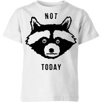 Not Today Kids' T-Shirt - White - 3-4 Years - White from Florent Bodart