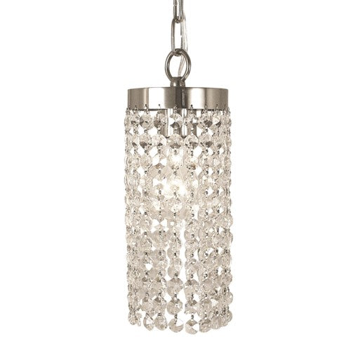 Framburg 2271-PS 1-Light Polished Silver Princessa Pendant from Framburg