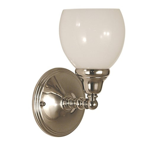Framburg 2427-PS 1-Light Polished Silver Sheraton Sconce from Framburg