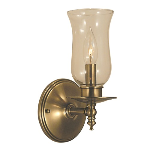 Framburg 2501-PS 1-Light Polished Silver Sheraton Sconce from Framburg