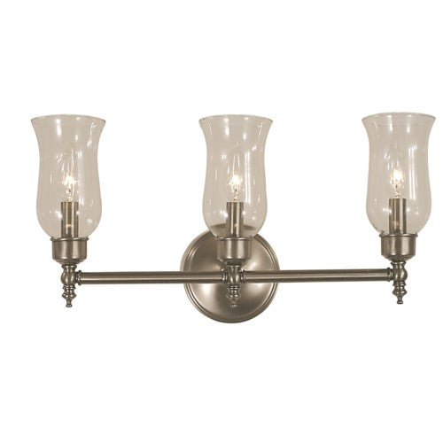 Framburg 2503-BN 3-Light Brushed Nickel Sheraton Sconce from Framburg