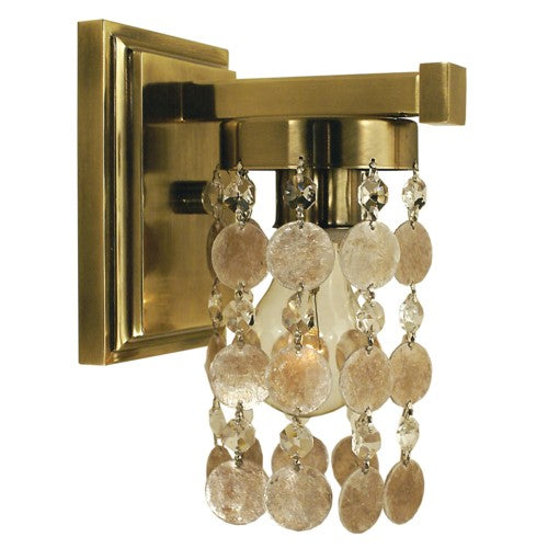 Framburg 4361-FB 1-Light French Brass Naomi Sconce from Framburg