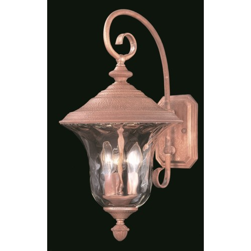 Framburg 8325-SBR 3-Light Siena Bronze Carcassonne Exterior Wall Mount from Framburg