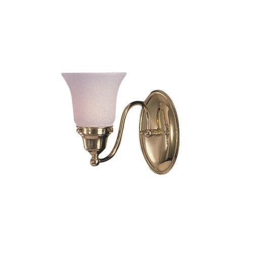 Framburg 8411-PN 1-Light Polished Nickel Magnolia Sconce from Framburg
