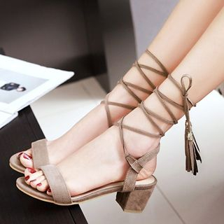 Block Heel Sandals from Freesia