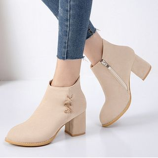 Chunky-Heel Ankle Boots from Freesia