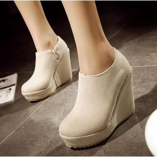 Platform Wedge Ankle Boots from Freesia