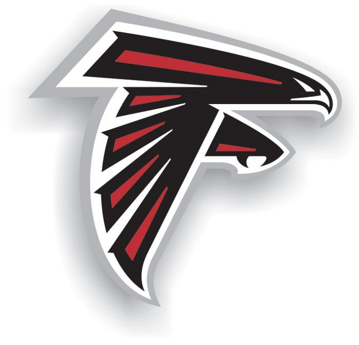 "Atlanta Falcons 12"" Vinyl Magnet from Fremont Die, Inc."