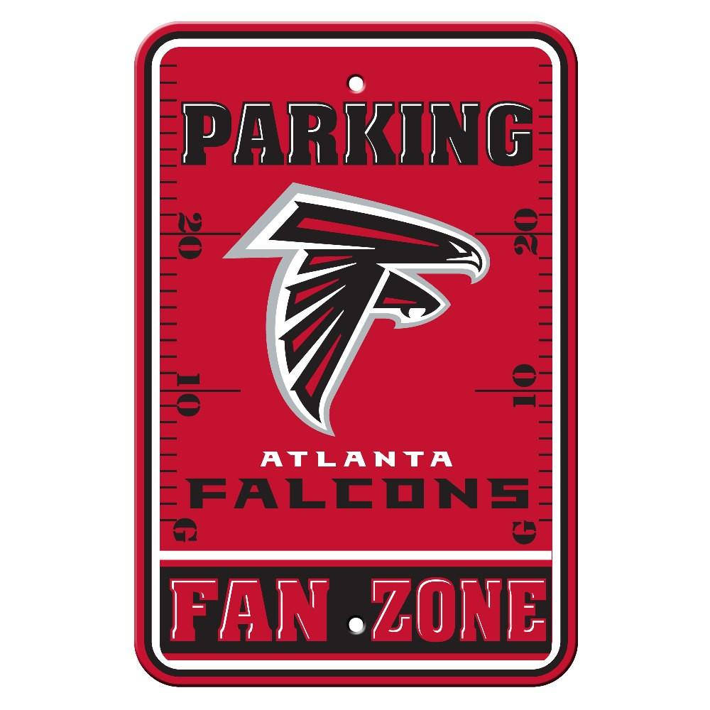 Atlanta Falcons Plastic Parking Sign from Fremont Die, Inc.