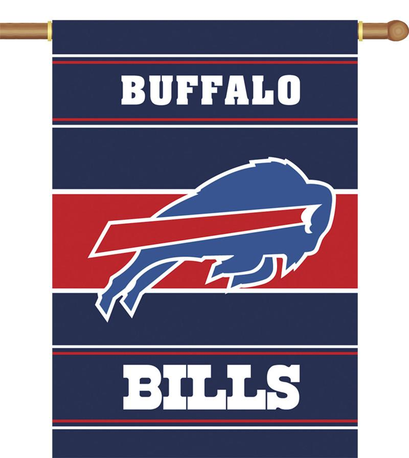 Buffalo Bills 2-Sided 28 X 40 House Banner from Fremont Die, Inc.