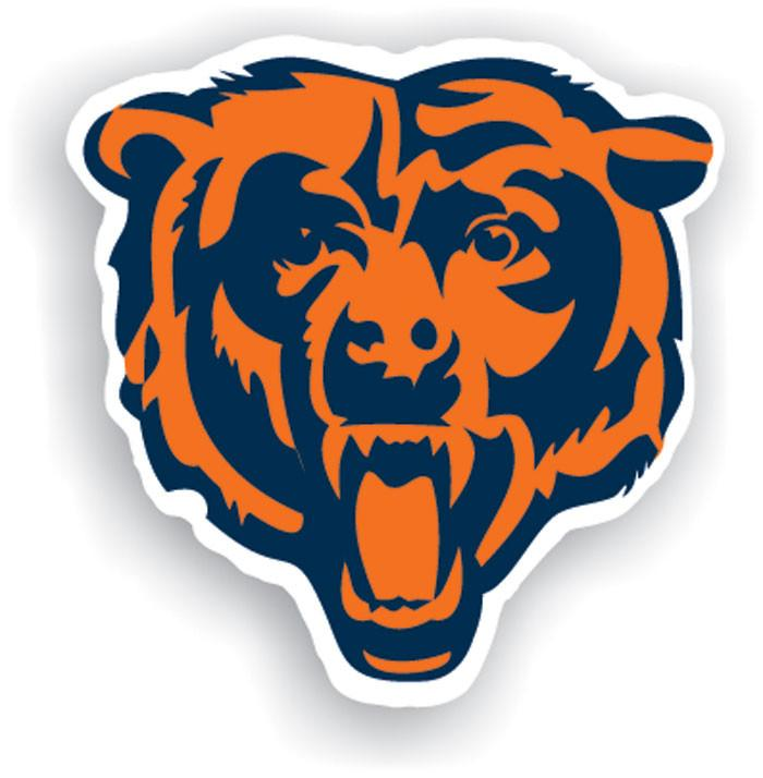 "Chicago Bears 12"" Vinyl Magnet from Fremont Die, Inc."