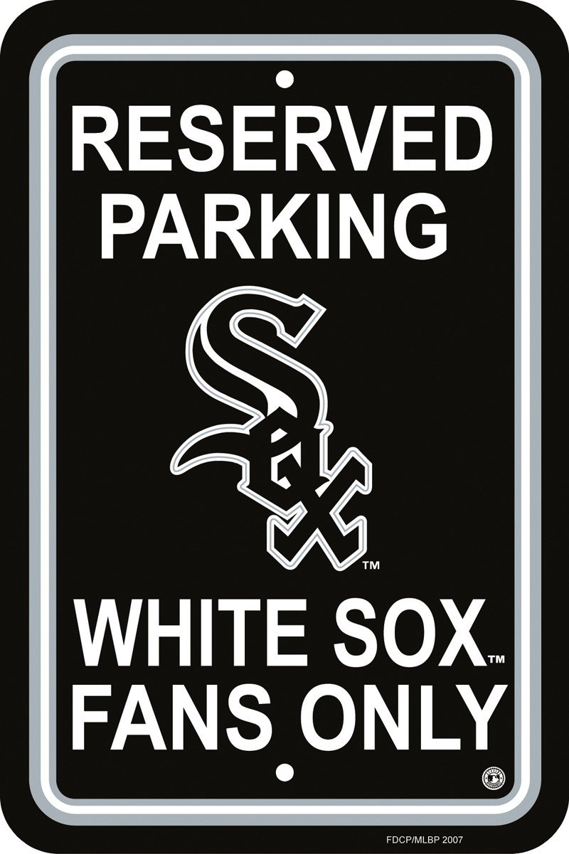 Chicago White Sox Plastic Parking Sign from Fremont Die, Inc.