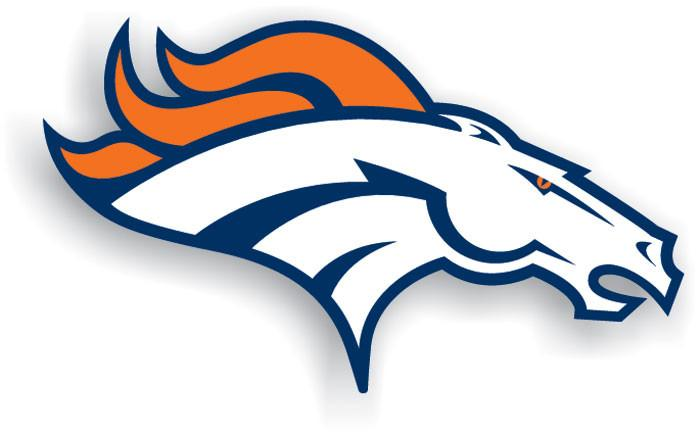 "Denver Broncos 12"" Vinyl Magnet from Fremont Die, Inc."