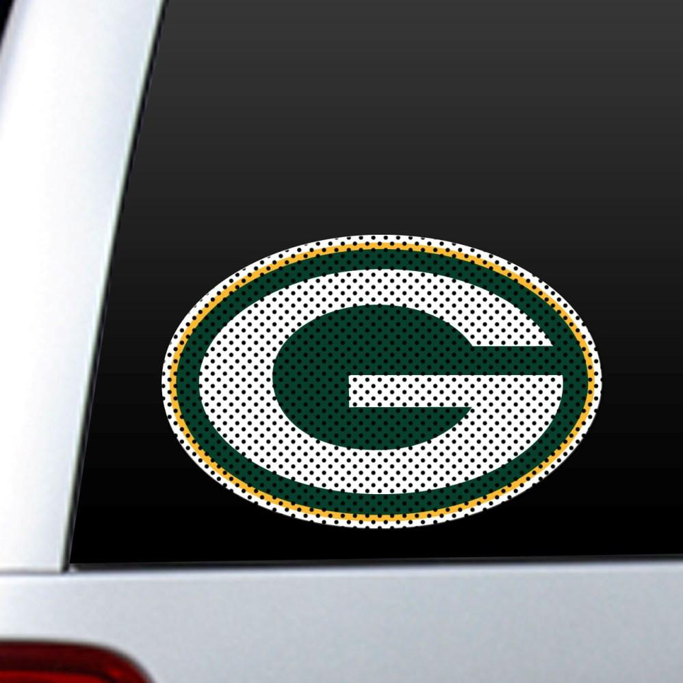 Green Bay Packers Diecut Window Film from Fremont Die, Inc.