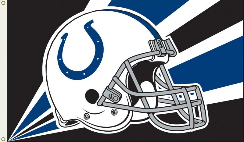 Indianapolis Colts 3 Ft. X 5 Ft. Flag W/Grommetts from Fremont Die, Inc.