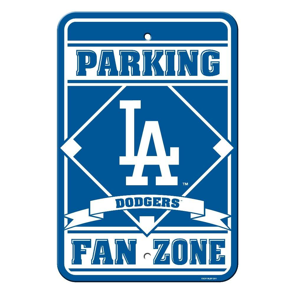 Los Angeles Dodgers Plastic Parking Sign from Fremont Die, Inc.