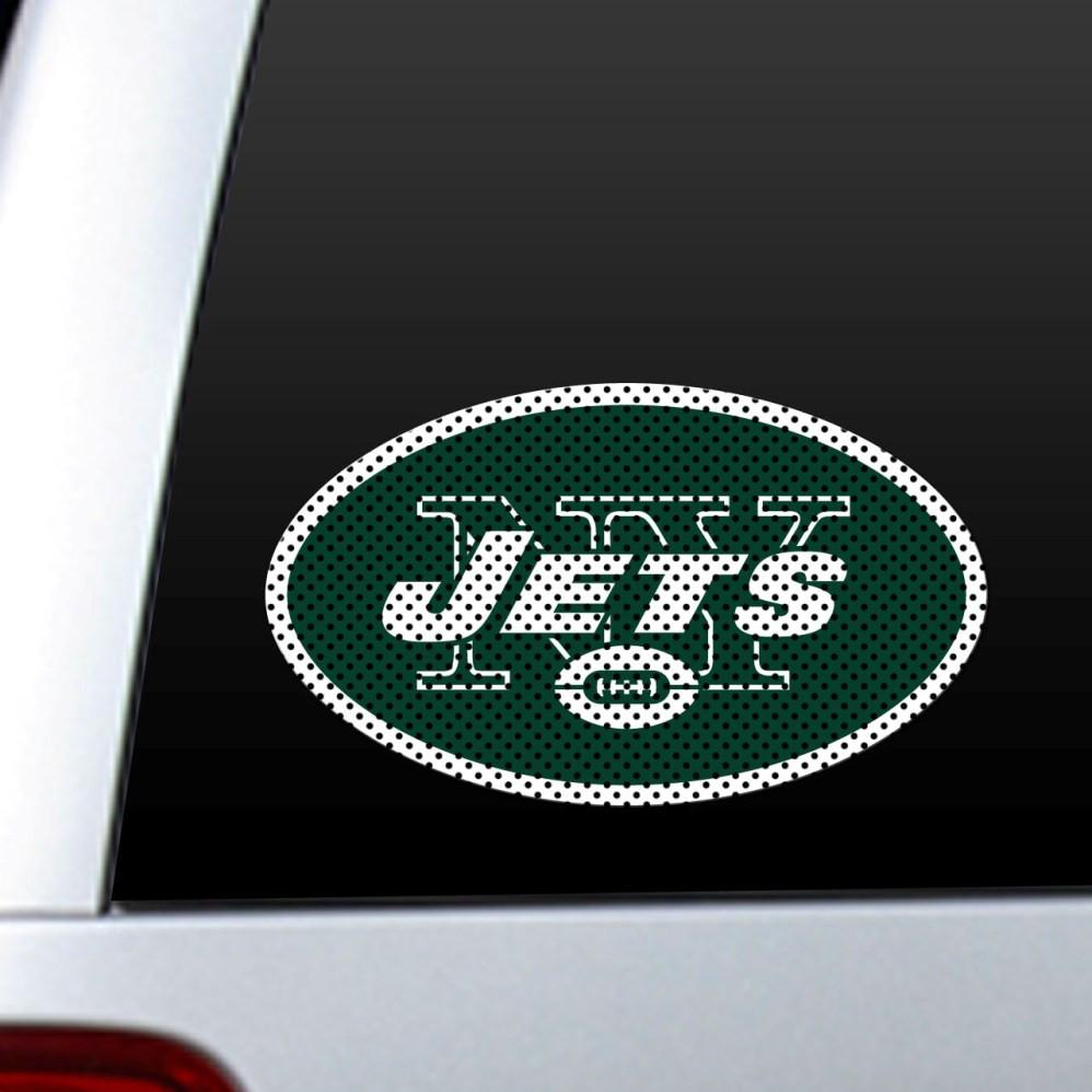 New York Jets Diecut Window Film from Fremont Die, Inc.